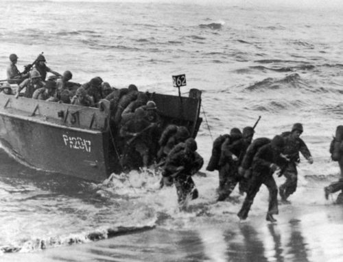 D-Day: Courage. Devotion. Technology.