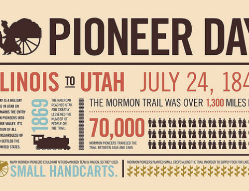 Happy Pioneer Day!